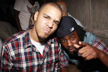 J. Cole & Wale Attend Basketball Game Together Squashing Beef Rumors