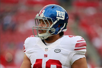"New York Giants Fullback Says Burglars Wrote ""KKK"" And Drew Swastikas On Walls Of His Home"