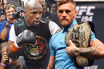 """Floyd Mayweather: """"I'm Gonna Slap The Shit Out Of McGregor When I See Him"""""""