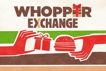 Trade Your Bad Christmas Gifts In For A Whopper, Courtesy Of Burger King
