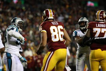 Redskins' Jordan Reed Gets Ejected For Punching Panthers' Kurt Coleman