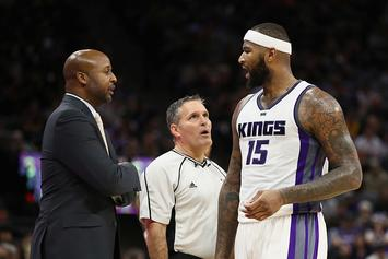 """DeMarcus Cousins Fined A """"Substantial Amount"""" For Cursing Out Reporter"""