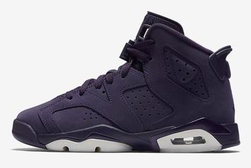 """Purple Dynasty"" Air Jordan 6 To Drop On New Year's Eve"