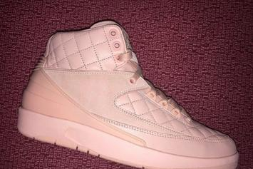 Don C Thinks Pink For His Upcoming Air Jordan 2 Collab