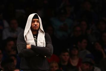 Phil Jackson Takes Another Shot At Carmelo Anthony On Twitter