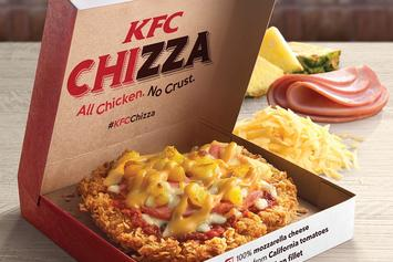 "Say Hello To The ""Chizza,"" KFC's Chicken-Pizza Monstrosity"