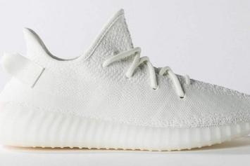"""Triple White"" Adidas Yeezy Boost 350 V2 Reportedly Releasing This Spring"