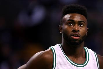 """Jaylen Brown Says Steph Curry's Taunting Last Night Was """"Cute"""""""