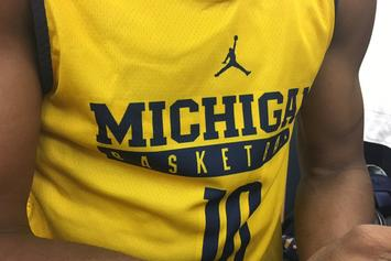 University Of Michigan Forced To Play In Practice Jerseys During Big 10 Tournament