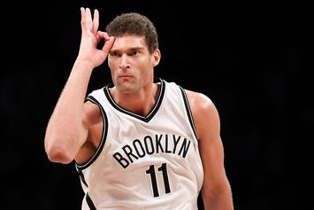"""Brook Lopez Says He's """"Pulling For Ibaka"""" In Fight With Robin Lopez"""