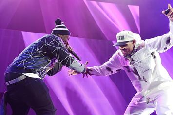 "50 Cent Says Chris Brown Is Still His Friend Despite Dropping Out Of ""Party"" Tour"