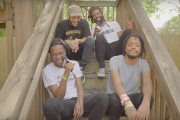 The Pivot Gang Interview: Saba, Joseph Chilliams, Squeak, & Dam Dam
