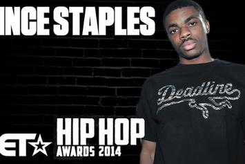 Vince Staples on The BET Hip-Hop Awards 2014 - Red Carpet Exclusive!