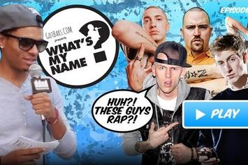 What's my Name: Episode 10 - White Rappers Edition