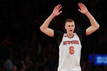 "Kristaps Porzingis Says He Was Hacked After Tweeting ""LA Clippers"""