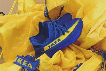 "Sneaker Customizer Mache Unveils ""IKEA"" Yeezy Boost 350 V2"