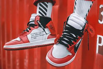 Off-White x Air Jordan 1 On-Foot Images Revealed