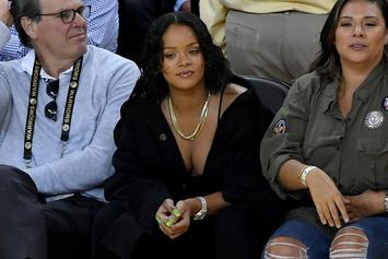 """Watch Rihanna Bow To LeBron James, Tells Fans """"The King Is Still King, Bitch"""""""