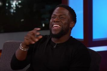 Kevin Hart Tells Jimmy Kimmel About The Time He Trash-Talked James Harden