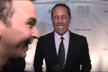 "Curved! Jerry Seinfeld Denies Kesha's Hug Attempt Cause He ""Didn't Know Who That Was""!!"