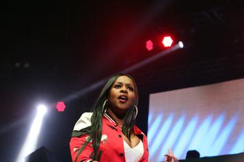 "Remy Ma Brings Out Fellow Female Emcees; Performs ""ShEther"" at Summer Jam"