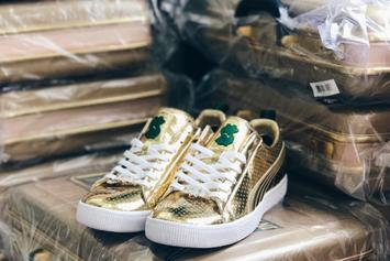 """WWE x Puma Unveil $500 """"Money In The Bank"""" Sneakers"""