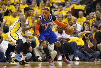 Cavs Reportedly Tried To Get Paul George And Carmelo In 5-Team Deal