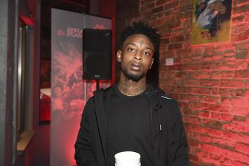 """21 Savage Scores His Highest-Charting Song With """"Bank Account"""""""