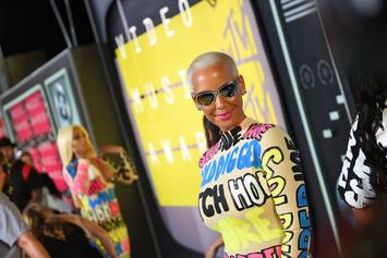 Amber Rose & Joe Budden Supposedly Have Deep Conversation In A Men's Room