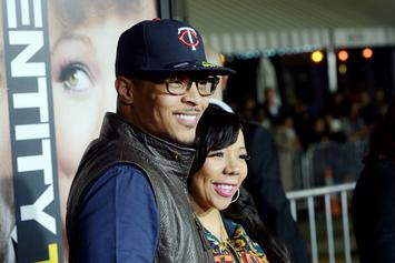 "Tiny Defends T.I.'s Integrity After Fan Calls Him ""Cheater"""