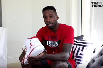 Jeff Green Gifted Special Edition Jordan 31s Commemorating Heart Surgery