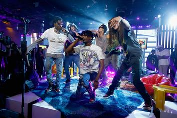 "A$AP Mob Performs ""Feels So Good"" On Tonight Show"