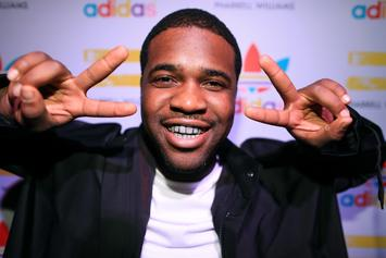 "A$AP Ferg Struggles With Wings On The ""Hot Ones"" Challenge"
