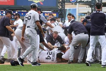 New York Yankees, Detroit Tigers Involved In Bench-Clearing Brawl