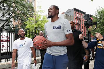 "Kevin Durant: ""Nobody Wants To Play In Under Armours"""