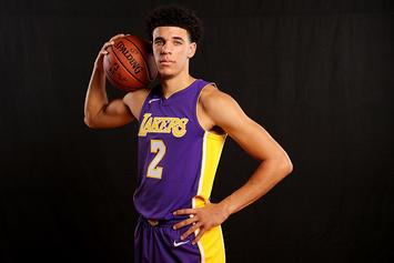 Lonzo Ball Raps About LaMelo's New Signature Sneaker: Video
