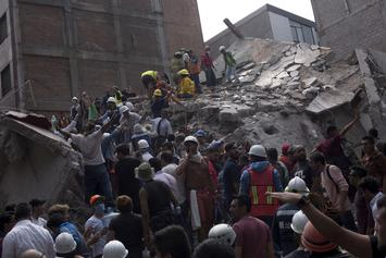 Mexico City Earthquake: Beyoncé, Nicki Minaj & More Share Prayers