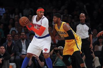 Cavs Had Deal In Place For Carmelo + Paul George On Draft Night
