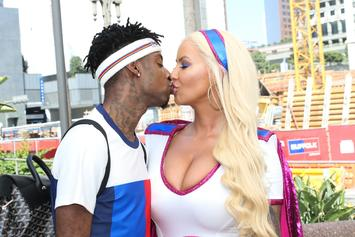 "21 Savage Is ""A Hoe Too"" At Amber Rose's SlutWalk"
