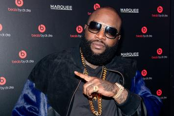 "Rick Ross Squeezes Through A Car Window ""For The Fat Boys:"" Twitter Reacts"