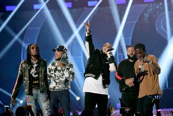 DJ Khaled Hosts Cardi B, Kendrick Lamar & More At The 2017 BET Hip-Hop Awards