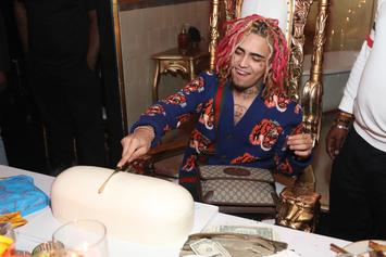Lil Pump Performs At Travis Barker's Son's 14th Birthday