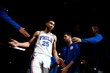 "76ers' Ben Simmons On NBA Debut: ""Felt Like I Was Playing 2K"""
