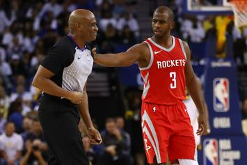 Houston Rockets Fear Chris Paul Could Be Out Extended Period Of Time