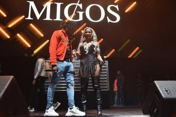Offset Proposes To Cardi B On Stage At PowerHouse Philly Concert
