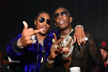 """First Week Numbers Are In For Future & Young Thug's """"Super Slimey"""""""