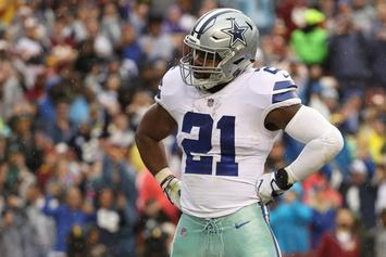 Ezekiel Elliott Now Reportedly Eligible For Sunday's Game