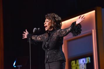"""Congresswoman Maxine Waters: Colin Kaepernick """"Must Be Respected, Honored"""""""