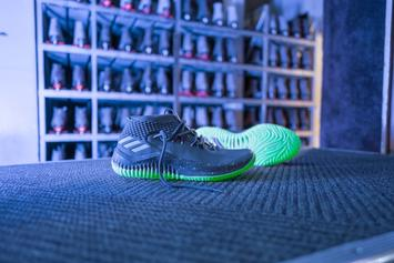 "Adidas & Damian Lillard Drop ""Glow In The Park"" Dame 4"