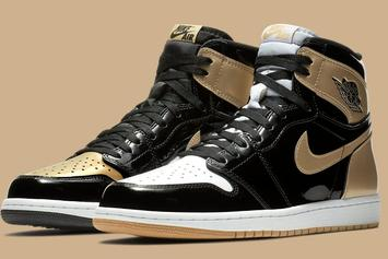 "Gold ""Top 3"" Air Jordan 1s Rumored To Release"